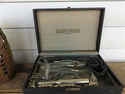 Super Marvel Medical Device, 1924, Quack device, In Case, Glass Attachments