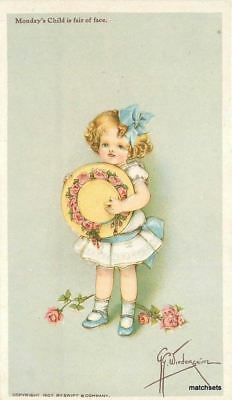 Artist Impression Fridays Child c1910 SWIFT Advertising 4035 Grace Wiederseim