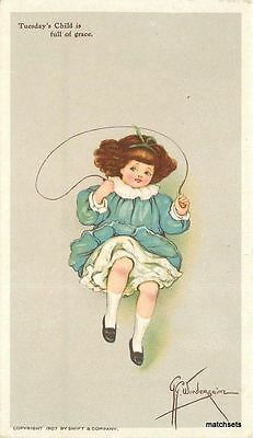 Artist Impression Fridays Child c1910 SWIFT Advertising 4032 Grace Wiederseim