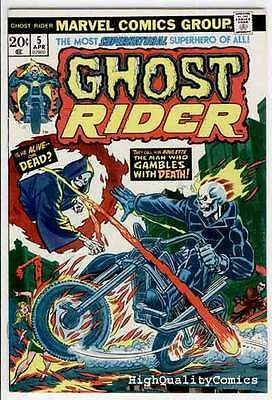 GHOST RIDER #5, VF/NM, Las Vegas, Mooney, Movie, 1973, more GR in store