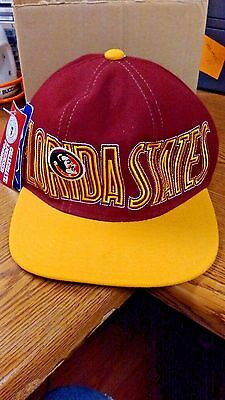 b214a537f5a FLORIDA STATE SEMINOLES Baseball Cap Hat Apex Size 7 1 4 Fitted New ...