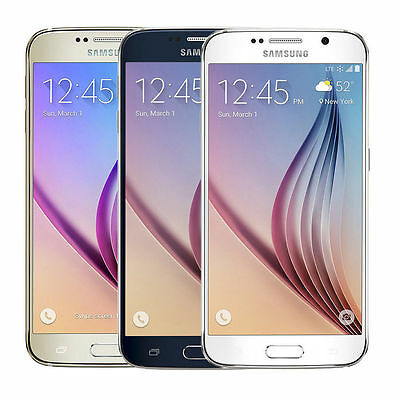 Samsung Galaxy S6 G920V 32GB Verizon Unlocked GSM Phone works with AT&T T-Mobile