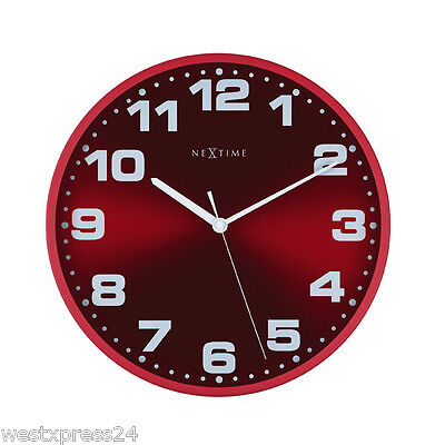 maxxcuisine 50s retro k chenuhr timer rot wanduhr uhr eieruhr kurzzeitmesser eur 9 28. Black Bedroom Furniture Sets. Home Design Ideas