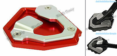 Kickstand Side Stand Enlarger Pad Red Fit 16-17 HONDA CRF1000L Africa Twin AU