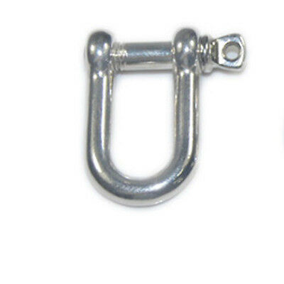 LOT U Type Shackle Stainless Steel Adjust for Paracord Bracelet Buckle Shackle