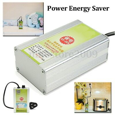 38KW Power Energy Saver Saving Box Electricity Bill Killer Up to 45-50%+Adapter