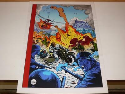 Original Artwork ~'War Theme' Computer Game Illustration~Bob Wakelin Artwork (1)