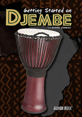 GETTING STARTED ON DJEMBE DRUM DVD Michael Wimberly LEARN TO PLAY TUITIONAL DVD