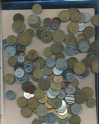 U.s. & World Medals & Tokens  -  130 Coin Lot