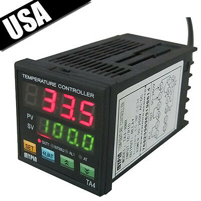 New Universal Display Digital PID Temperature Controller SNR Alarm 7 Alarm Mode