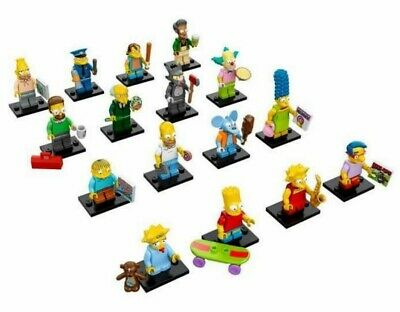 THE SIMPSONS Figura a scelta MINI LEGO Figures 71005 Choose Your One SIMPSON NEW