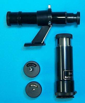 Celestron Telescope Accessory Kit - 2 Eyepieces - 5x24 Finderscope + FREE BARLOW