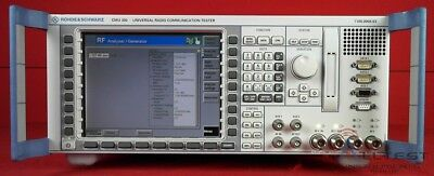 Rohde & Schwarz CMU300 Communications Analyzer.
