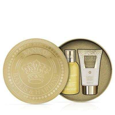 Baylis and Harding Penny Tin Style Gift Set - Sweet Mandarin and Grapefruit