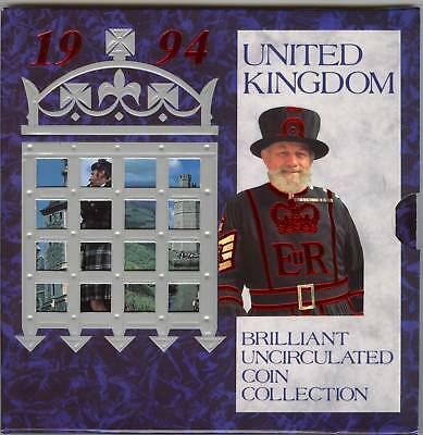 1994 Brilliant Uncirculated Set Of 8 Coins