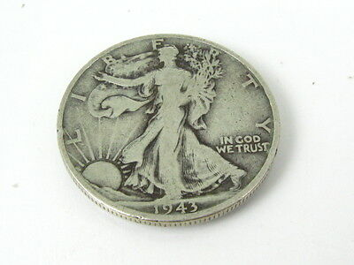 Collectible 1943-S United States Silver Walking Liberty Half Dollar Coin