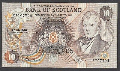 50 Pounds From Scotland 1989 I UNC