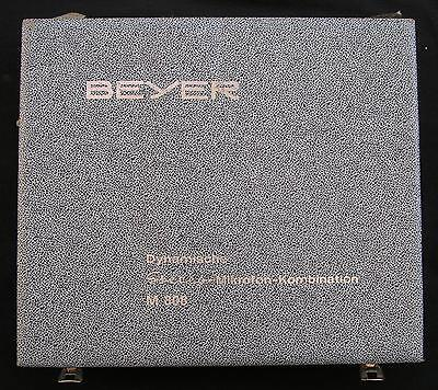 Beyer M 808 2Stck. Mikrofone Microphone tested working
