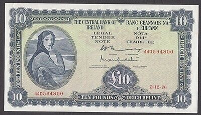 10 Pounds From Ireland 1976 Aunc