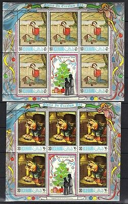 Uae-Rasalkhaima 1965 Christmas 1968 Five Sets In 4 Sheets All Never Hinged