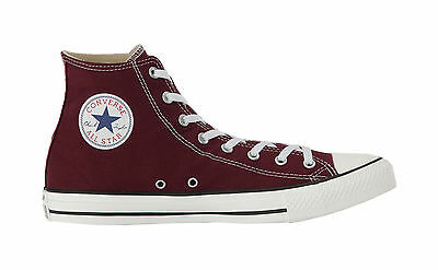Converse Shoes Chuck Taylor All Star High Top Canvas Mens Sneakers- Burgundy