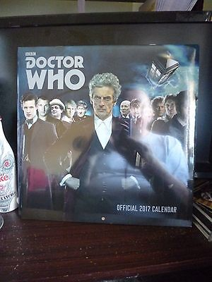 2017 Doctor Who Calendar - New and Sealed.