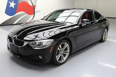 2014 BMW 4-Series Base Coupe 2-Door 2014 BMW 428I COUPE SPORT TURBO LEATHER SUNROOF NAV 41K #711257 Texas Direct