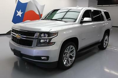 2016 Chevrolet Tahoe LT Sport Utility 4-Door 2016 CHEVY TAHOE LT HTD SEATS NAV REAR CAM DVD 22'S 19K #195370 Texas Direct
