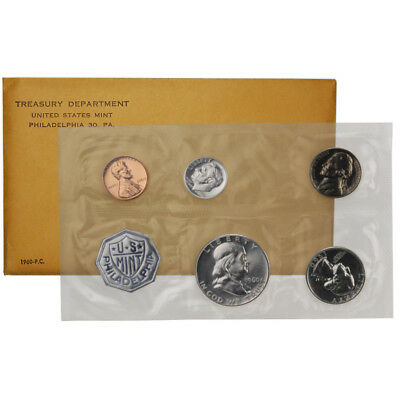 1960 US Mint Proof Set (Small Date)