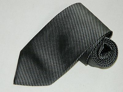 Men's Brooks Brothers Black Silk  Neck tie Made in USA