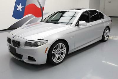 2013 BMW 5-Series Base Sedan 4-Door 2013 BMW 535I M SPORT SUNROOF CLIMATE SEATS NAV HUD 43K #822688 Texas Direct