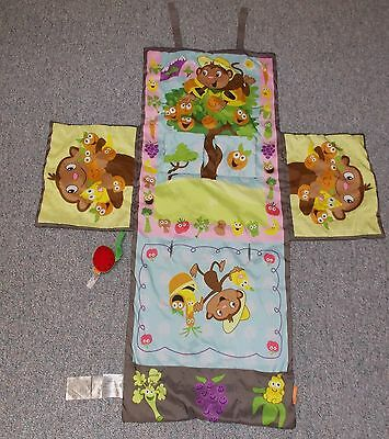 Baby Infant Infantino Shop & Play 3-in-1 Shopping Cart Cover Monkeys SUPER CUTE!
