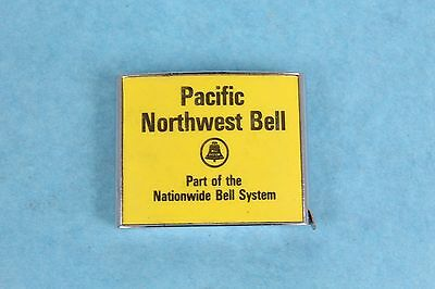 Vintage Pacific Northwest Bell Telephone Yellow Pages Advertising Tape Measure
