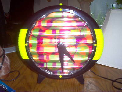 Rabbit Tanaka Lighted Psychedlic Wall Or Table Clock, Round