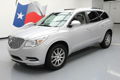2017 Buick Enclave Leather Sport Utility 4-Door 2017 BUICK ENCLAVE LEATHER DUAL SUNROOF REAR CAM 34K MI #141274 Texas Direct