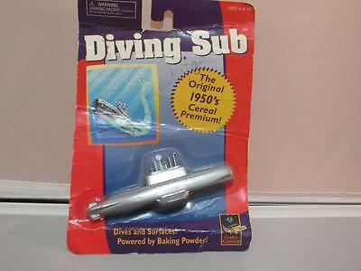 Diving Sub 'Powered by Baking Powder' W/ Original Card Package