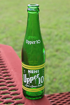 Gadsden Alabama Upper 10 Acl Bottle Nehi Ala AL Rare 1950's Rare