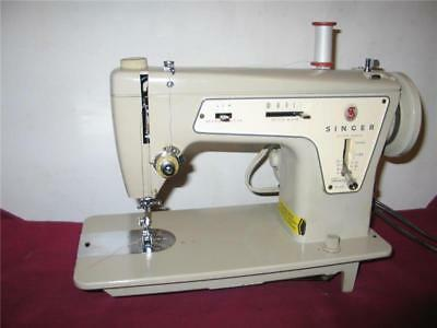 HEAVY DUTY SINGER 237 INDUSTRIAL STRENGTH SEWING MACHINE, upholstery, denim