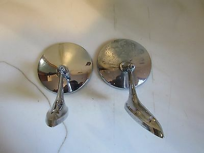 Vintage Pair of 1963-1965 Chevy Car Exterior  Rearview Mirrors