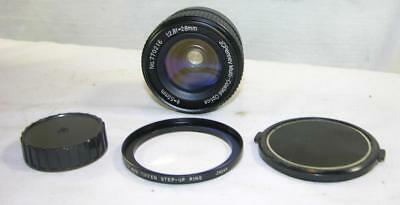 J C Penney Wide Angle 1:2.8 28Mm Mlti Ctd Lens-Pentax 42Mm Screw Mount-Both Caps