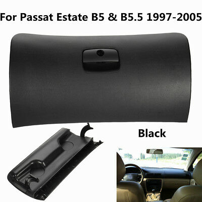 For VW Passat Estate B5 & B5.5 1997-2005 Sedan 4 Door Glove Box Lid Cover Black