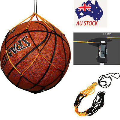 Practical Nylon Net Bag Ball Carry Mesh Volleyball Basketball Football Soccer