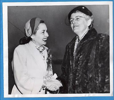 1953 Bonn Germany Mrs Matthew Ridgway Mrs James Conani Original Press Photo