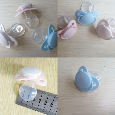 Newly Adult Nibbler Pacifier Feeding Nipples with Back Cover Adult Sized Design