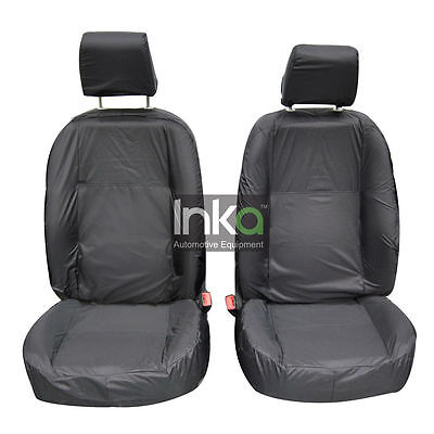 Land Rover Freelander 2 Front Inka Fully Tailored Waterproof Seat Covers Grey