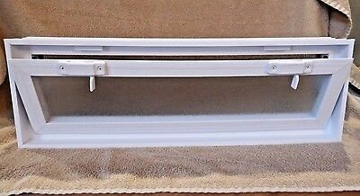Glass Block Window Vent Double pane Insulated Glass 20 x 8 x 3