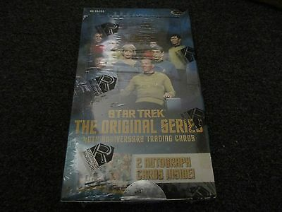 Star Trek The Original Series 40th Anniversary Series 1 Sealed Box - 2006 TOS
