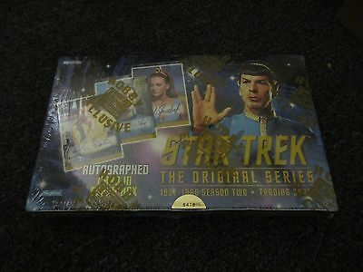 Star Trek The Original Series Season 2 SEALED Box - 1998 Fleer Skybox TOS Two