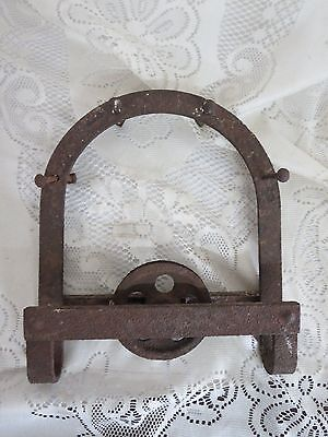 Vintage Iron Barn Door Hanger Bracket