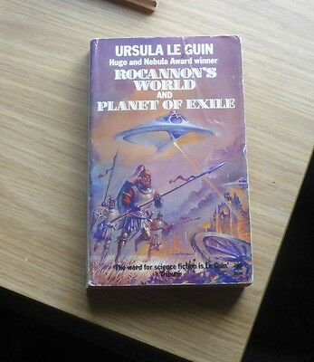 Rocannon's World & Planet of Exile by Ursula Le Guin  2in1 pb novel